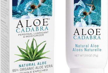 Aloe Cadabra natural sex lube