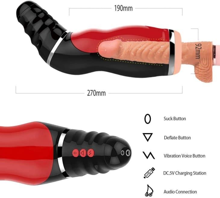 Sohimi male masturbation sex toy