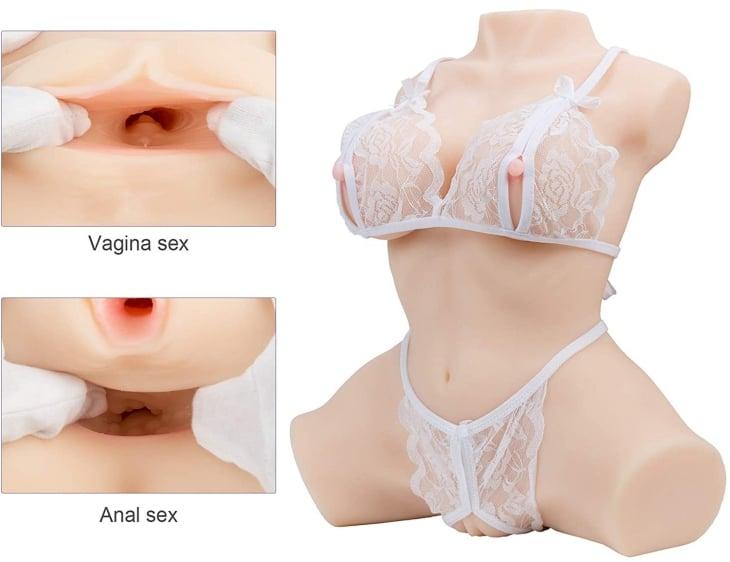 Y-Not female torso sex doll for men